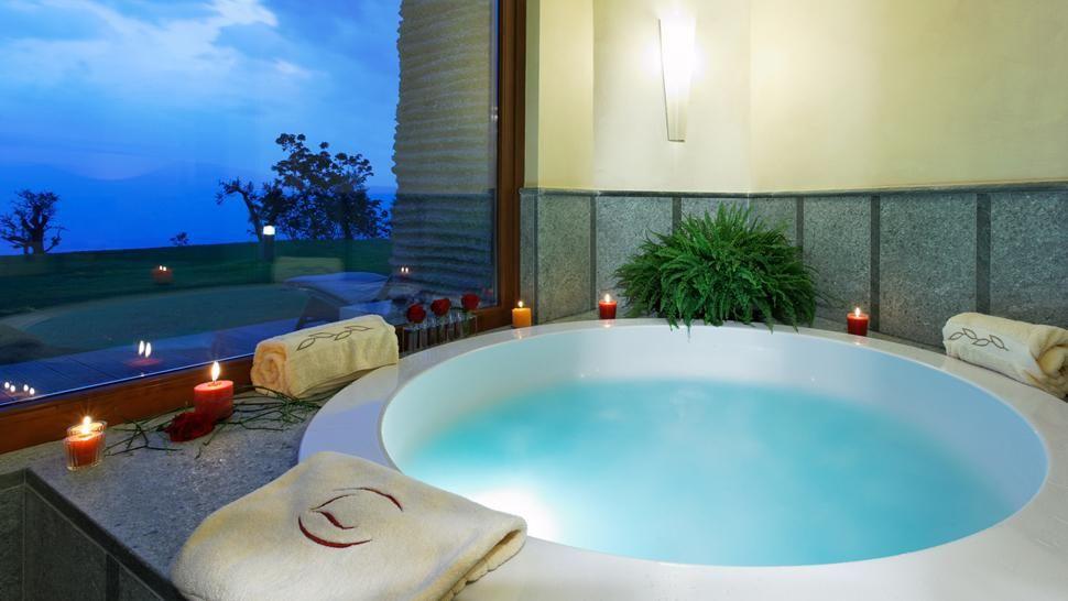 The eco-friendly Lefay Resort & SPA Lago di Garda is built into the ...