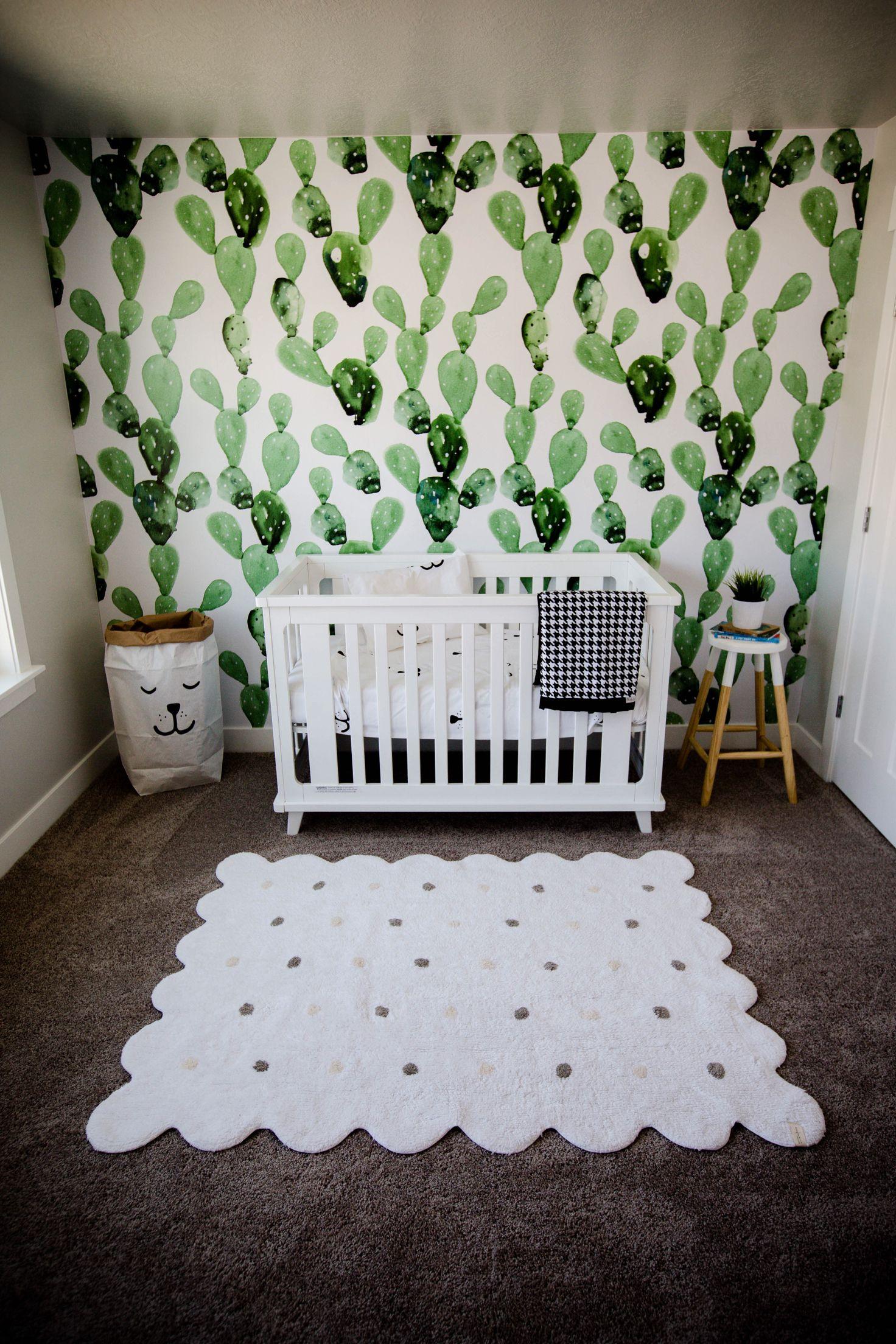 Nursery Cactus Nursery Baby Boy Gender Neutral Anewall