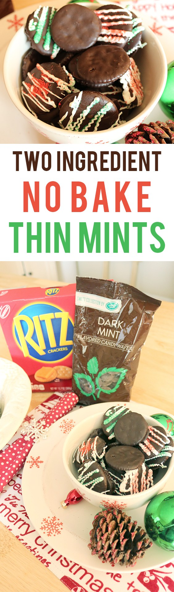 how to make thin mint cookies with ritz crackers