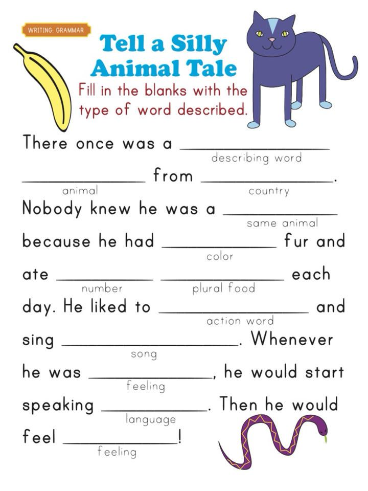 2nd Grade free printable grammar worksheets for 2nd grade : reading comprehension workbook 2nd grade | description in reading ...
