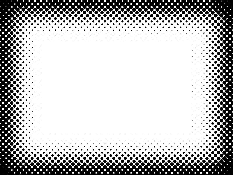 Free Comics Halftone Border Decor And Ornaments Textures For Photoshop Halftone Free Comics Halftone Dots