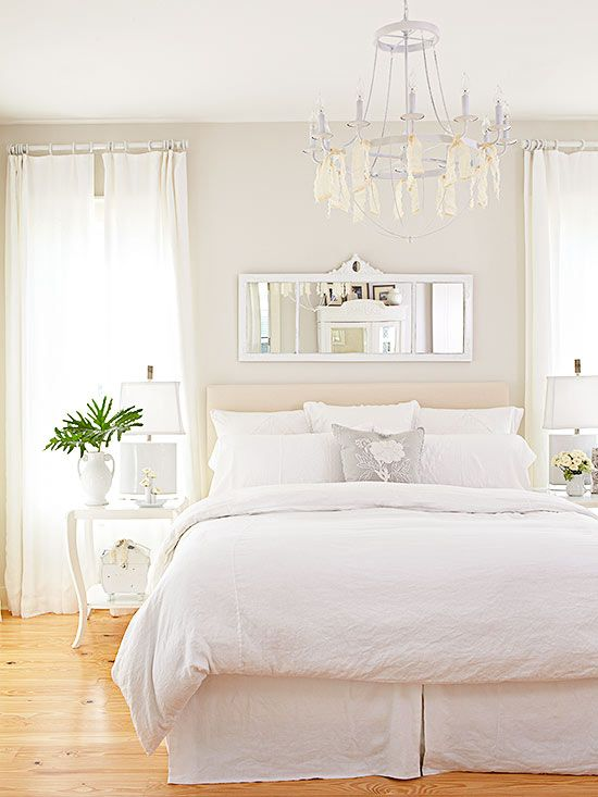 What Goes With White Walls Guest Bedroom Makeover White Master