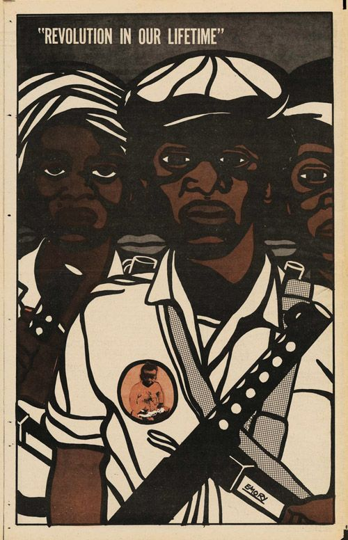 by Emory Douglas, who was art director of The Black Panther newspaper and later the party's Minister of Culture.