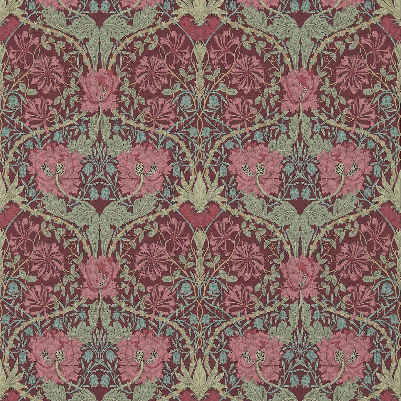 Morris & Co Honeysuckle & Tulip Wallpaper William