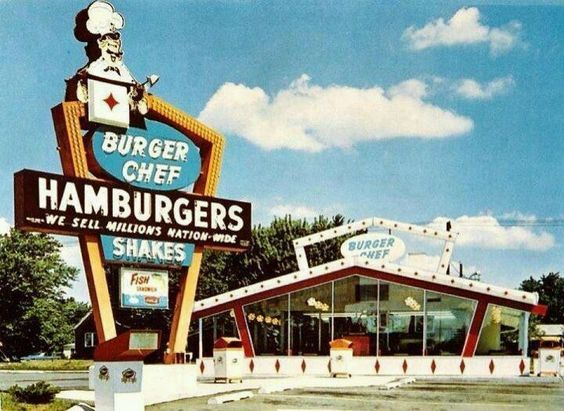 Pin by Ray Hogge on Burger Chef   Dayton restaurants ...