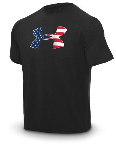 99f1640bf0d92 Hubs has this in about 3 different colors and he has also has the hats that  match...Men's Big Flag Logo UA Tech™ Shortsleeve T-Shirt Tops by Under  Armour ...