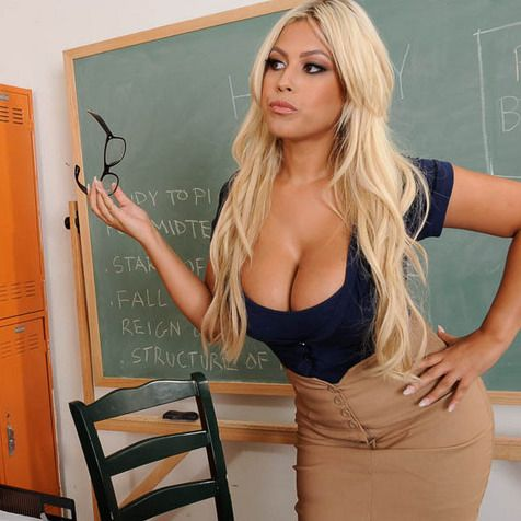 This hot busty 3d teacher fuckings students