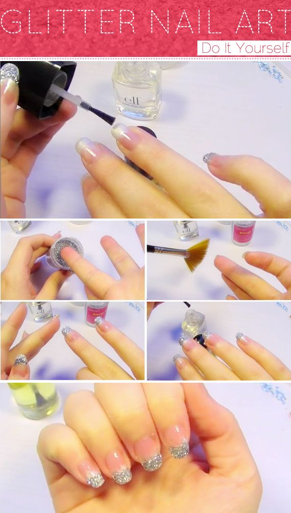 Quick n easy glitter french manicure nails 3 chicfactorgazette quick n easy glitter french manicure nails 3 chicfactorgazette solutioingenieria Choice Image