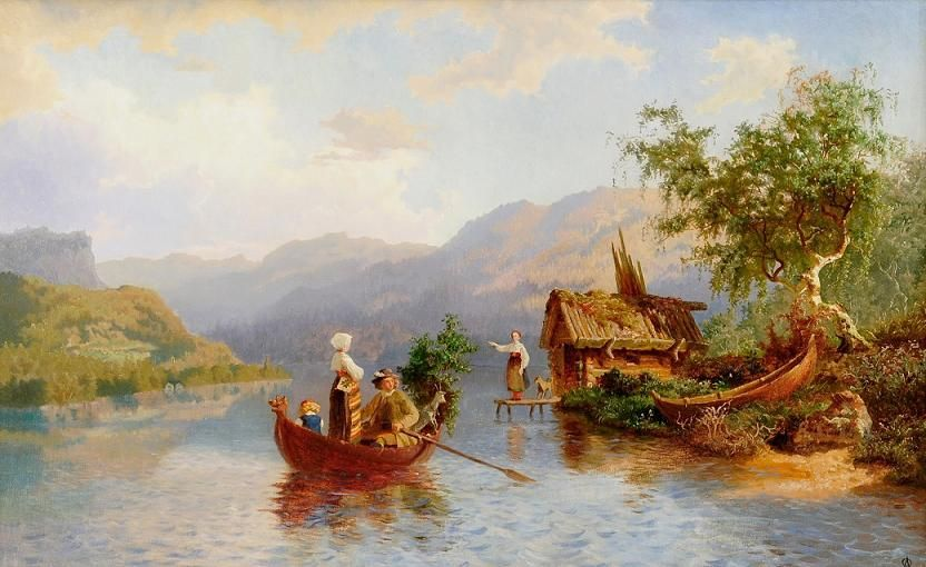 Famous Scandinavian Paintings Google Search Landscape Scandinavian Paintings Spanish Art