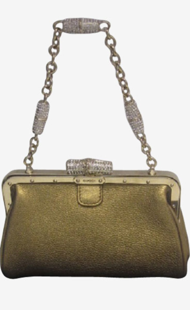 Gucci Gold Handbag | VAUNTE