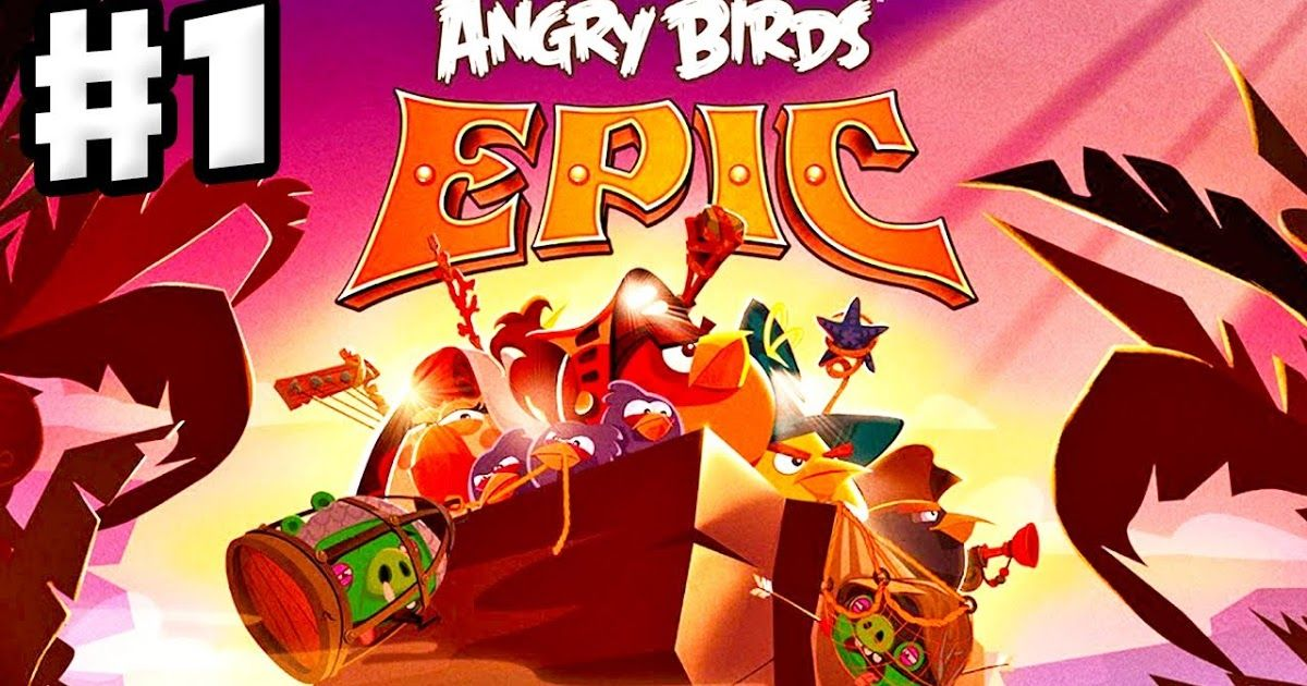Free Download Angry Birds Epic RPG Game Apps For Laptop Pc
