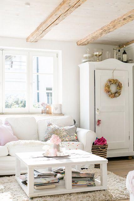 Skandinavisches Wohnzimmer Schwedisches Wohnen Nordic Style