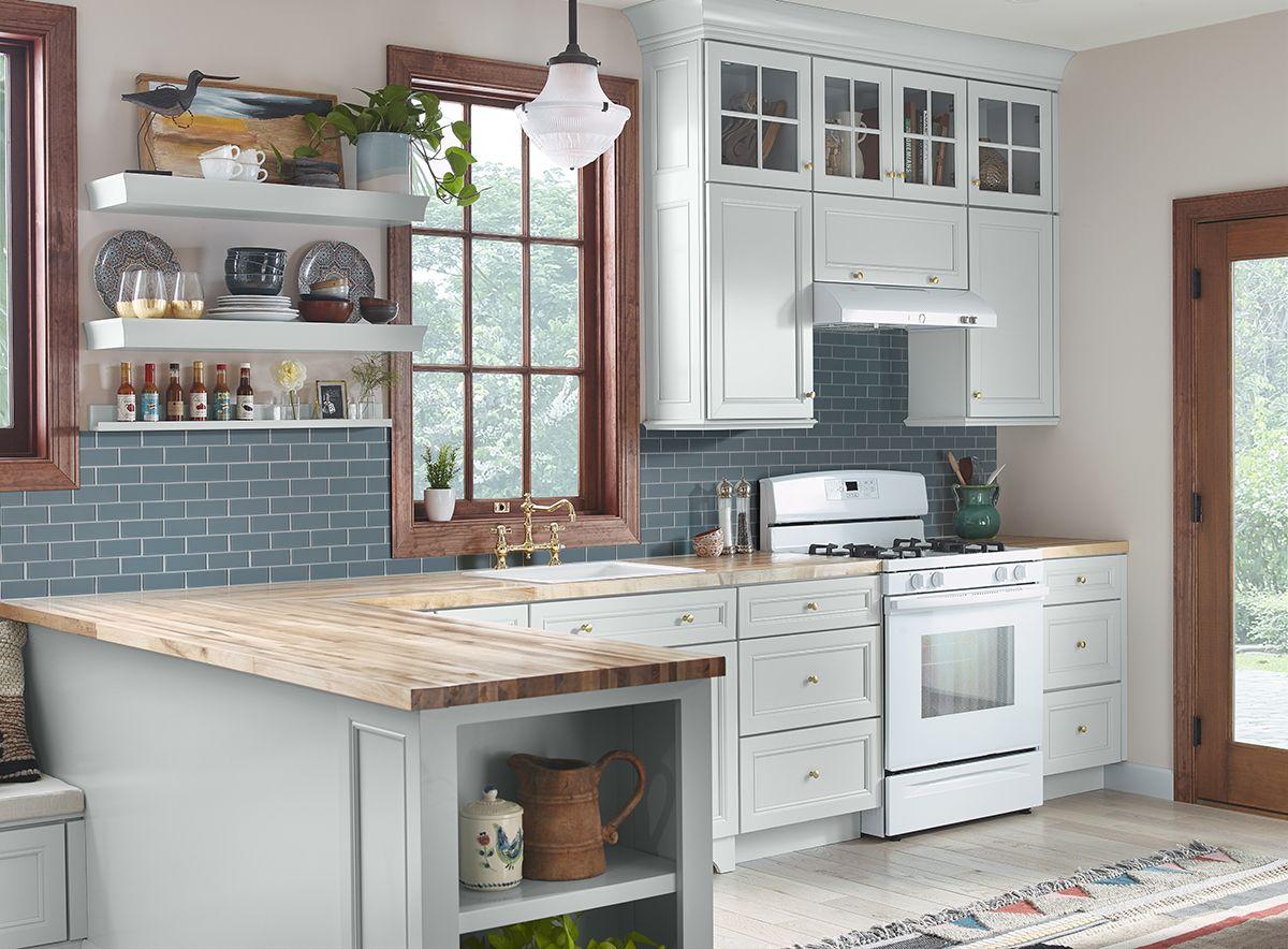 Harbor Gray Subway 2x4x8mm Kitchen Cabinet Design Kitchen Design Industrial Kitchen Design