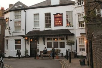 The Holly Bush tavern in Hampstead. I've been going there for over 30 years.