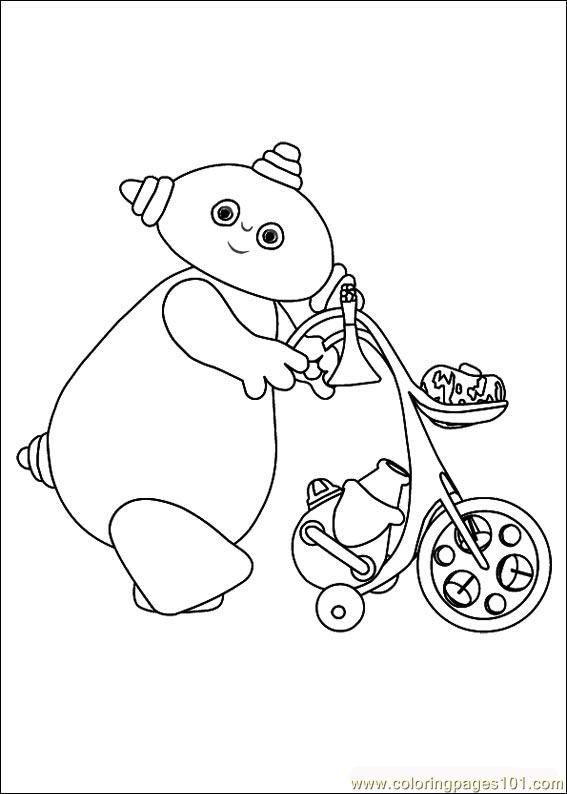 Makka pakka colouring page | Jackson | Pinterest | Night garden ...