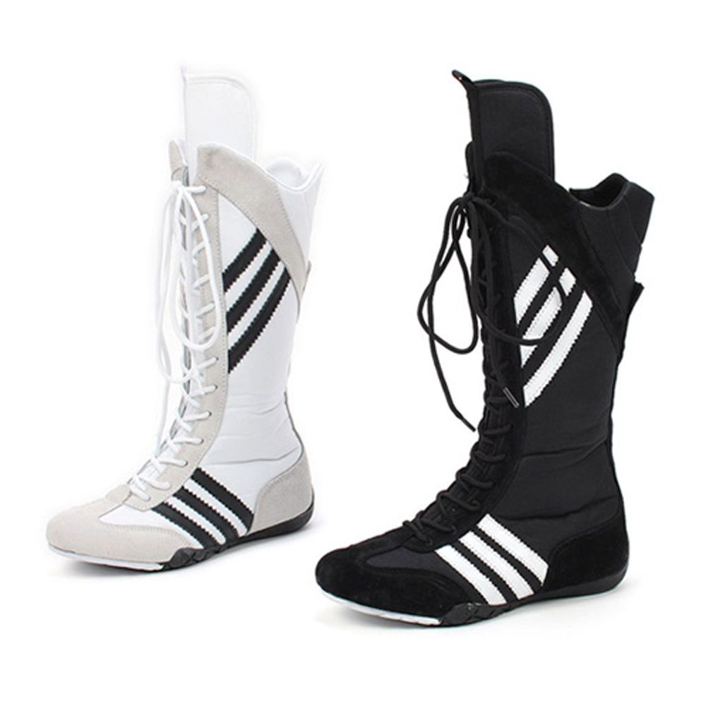 KNEE HIGH FASHION SNEAKERS BOXING SHOES