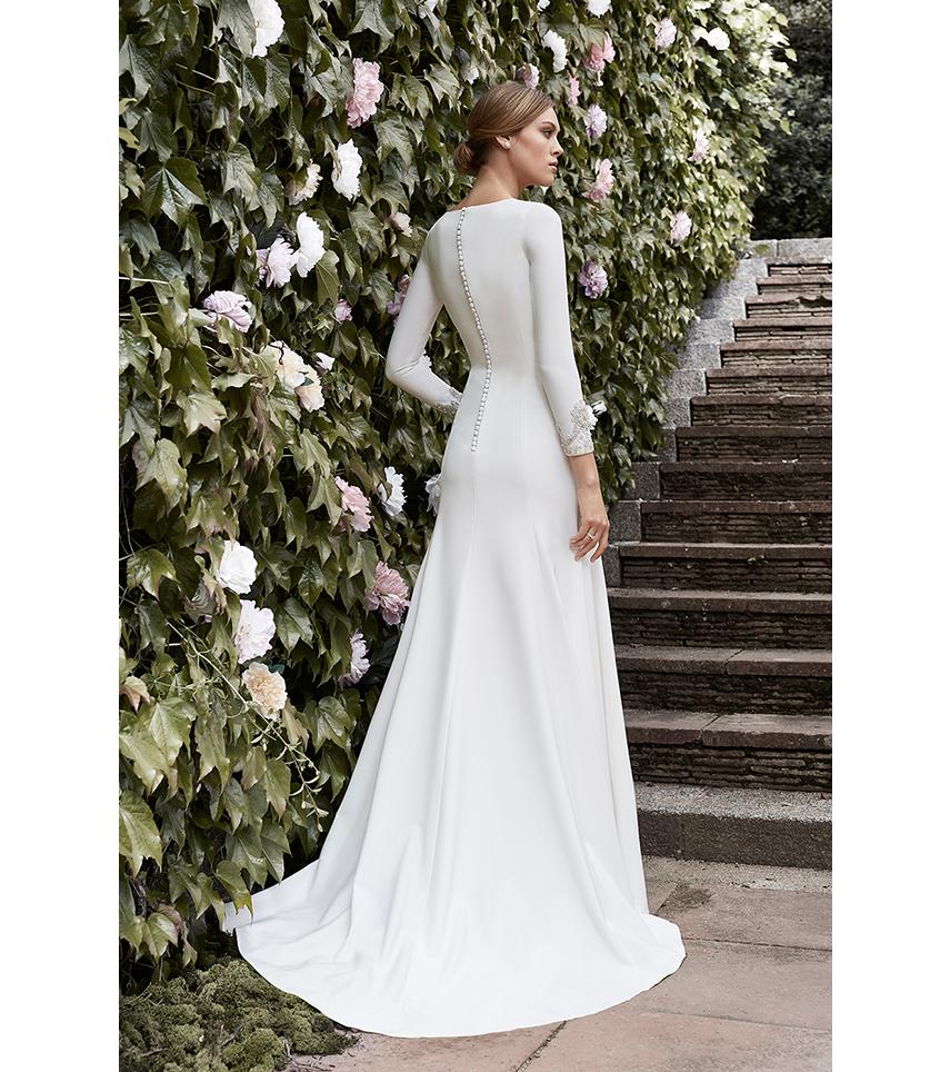 Brianda – Cristina Tamborero Atelier   Mi vestido de novia ...