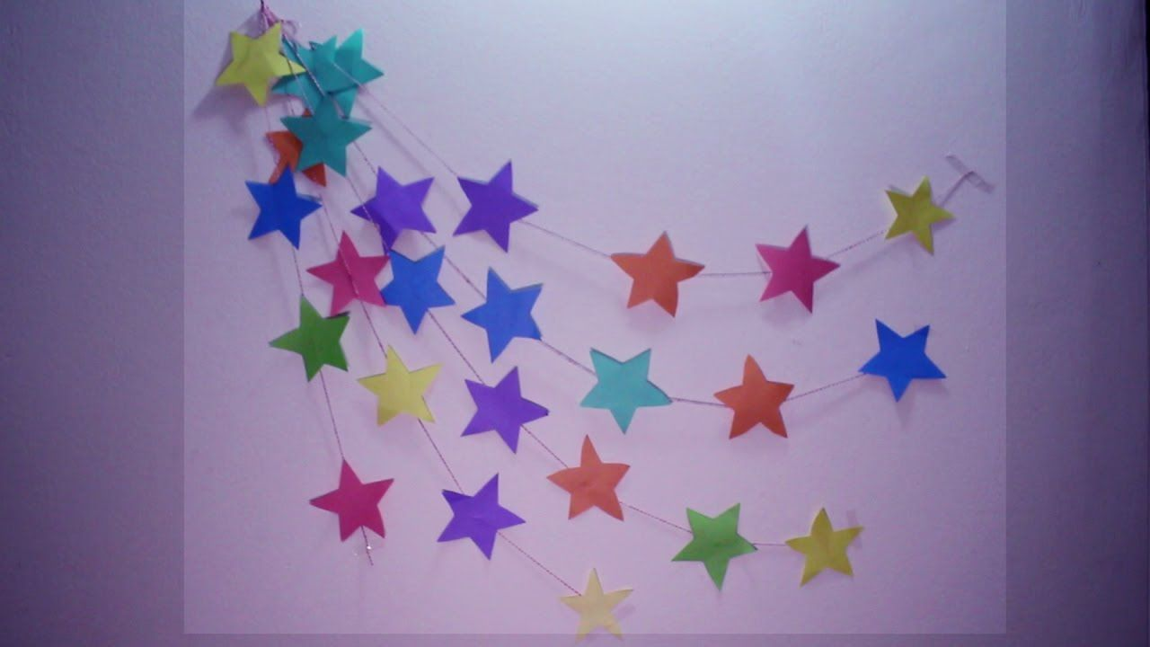 33 Craft Ideas Using Construction Paper Diy Wall Hanging Crafts