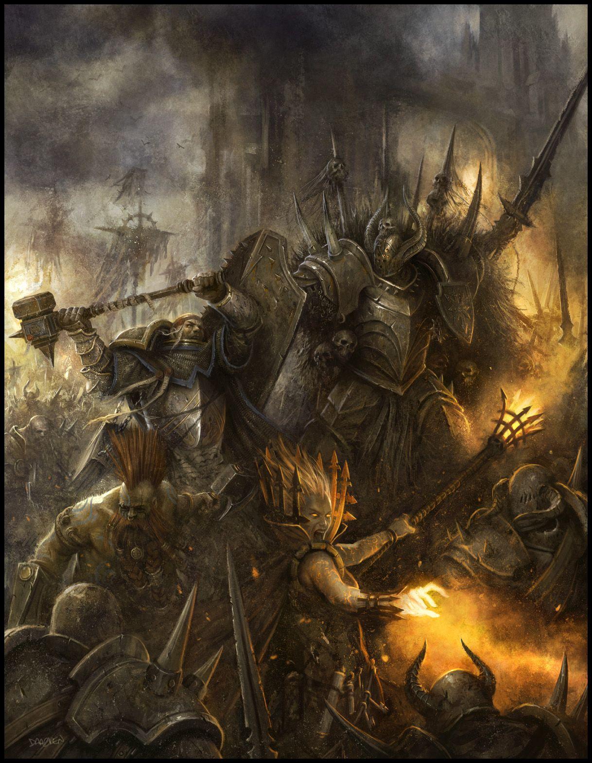 Warhammer Fantasy Roleplay, Fantasy Battle, High Fantasy, Sci Fi Fantasy, Medieval  Fantasy