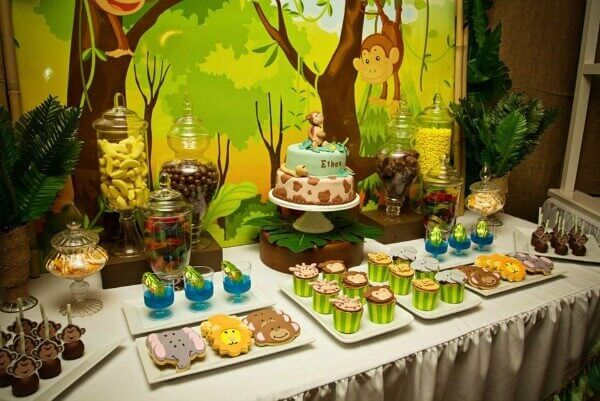 Unique Theme For Boy Baby Shower Decorations Baby Shower Ideas A