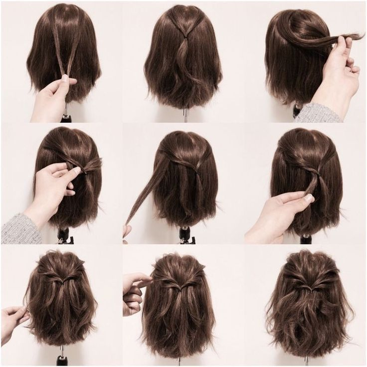 Luxury Easy Hairstyles For Short Hair At Home Videos To Do Oktoberfest Einfac Check Mor Short Hair Styles Easy Hair Styles Medium Hair Styles