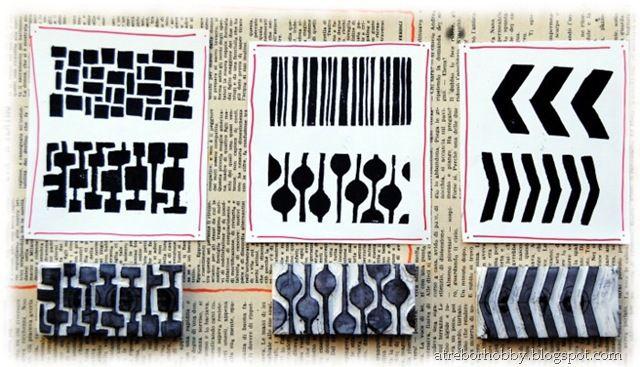 handmade stamps stamp pinterest stempel stempeln und drucken. Black Bedroom Furniture Sets. Home Design Ideas