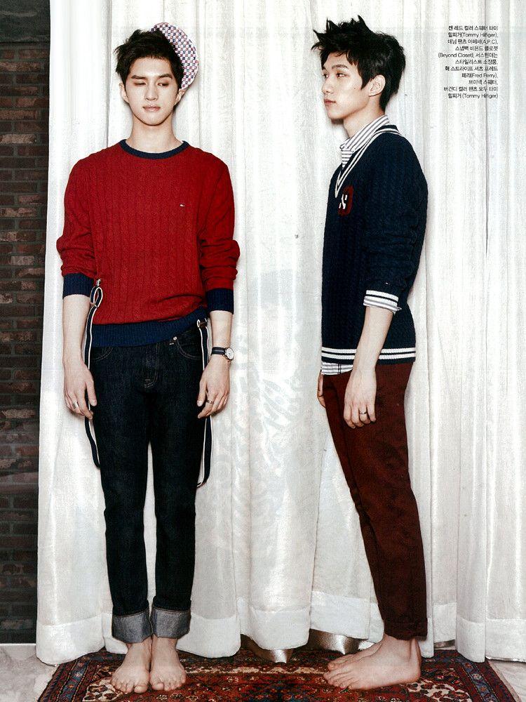Ken and Hyuk ♡ #VIXX // Ceci Magazine January Issue '14