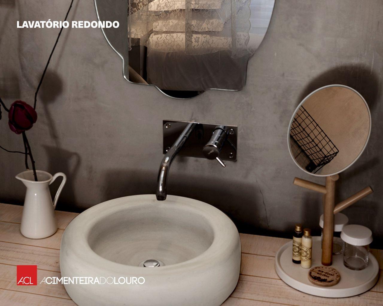 A DIFERENÇA ESTÁ NOS DETALHES! Lavatórios de Betão ACL Disponíveis em 3 cores -- THE DIFFERENCE IS IN THE DETAILS! ACL Concrete washbasin Available in 3 colors