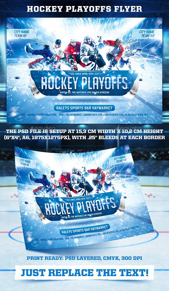 Hockey playoffs flyer template hockey tournaments flyer template hockey playoffs flyer template hockey tournaments flyer template and template maxwellsz