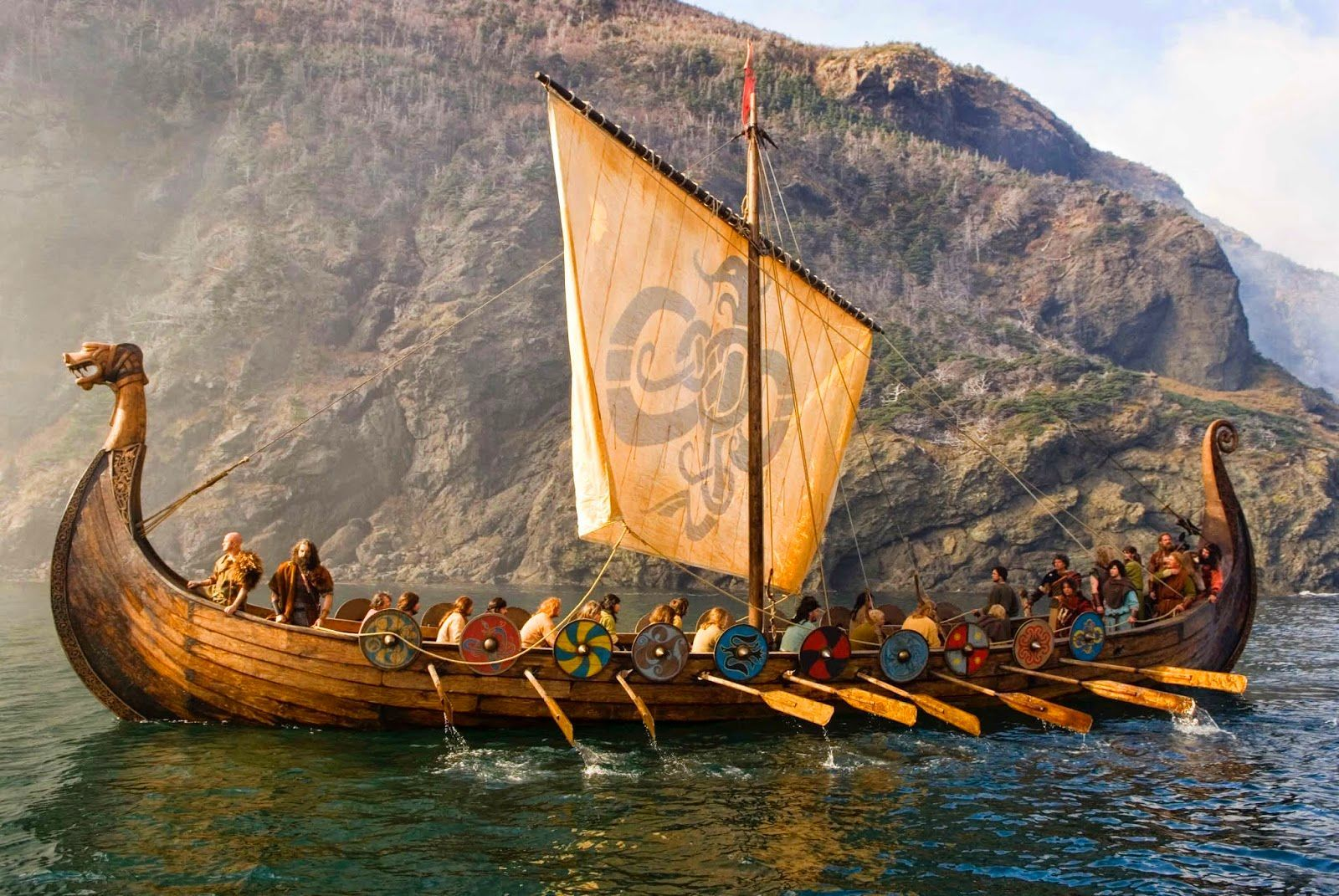 Viking  Longboat - Beowulf