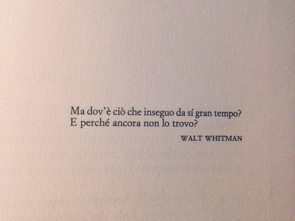 Frasi Amore Whitman.Il Fascino Del Vago Citazioni Citazioni Poetiche Citazioni Motivazionali