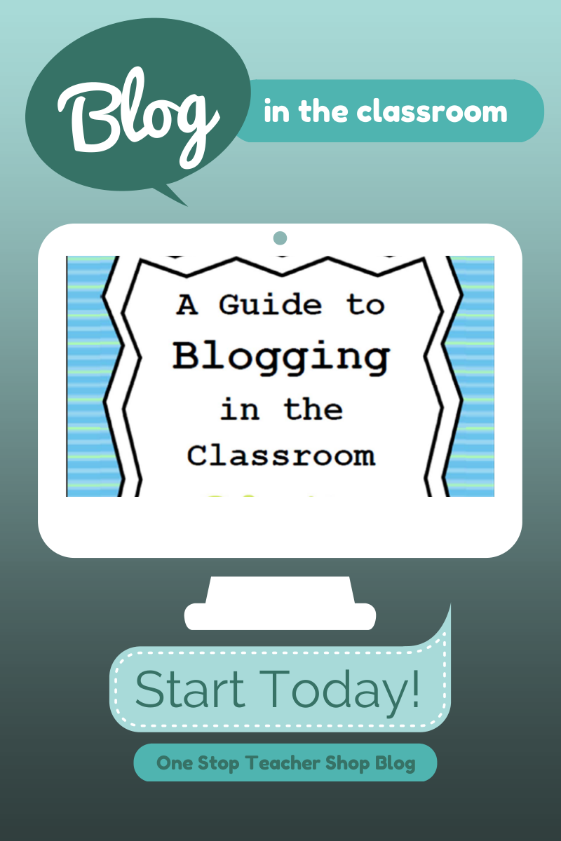Thinking about using Blogging as a learning tool in your classroom?  Get started here... One Stop Teacher Shop Blog