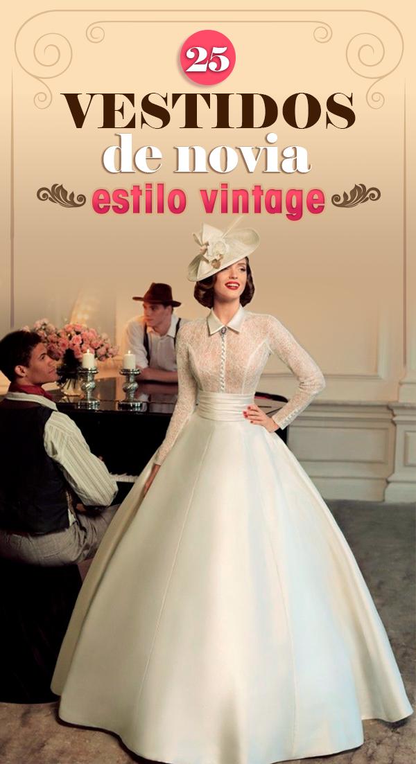 15 Vestidos de novia inspirados en los años 40 que te harán decir ¡Sí, acepto!