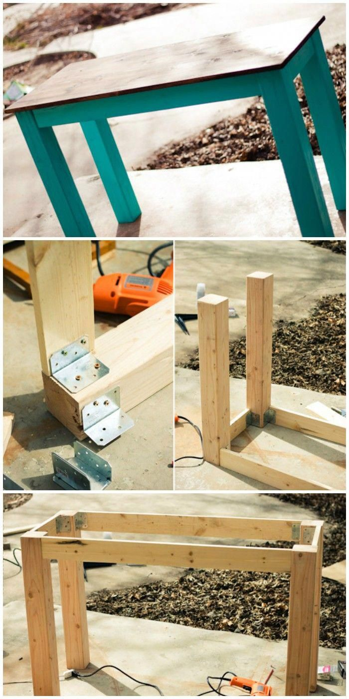 20 Interesting And Cheap DIY Table Ideas images
