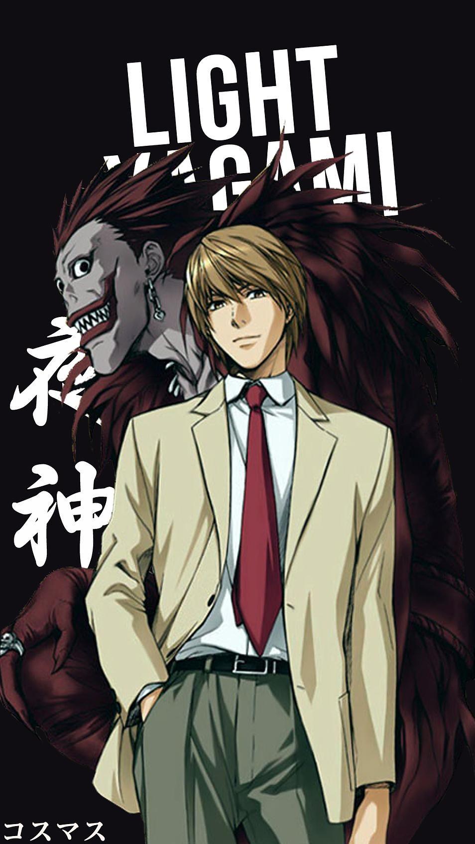 Light Yagami Garotos Anime Tudo Anime E Personagens De Anime