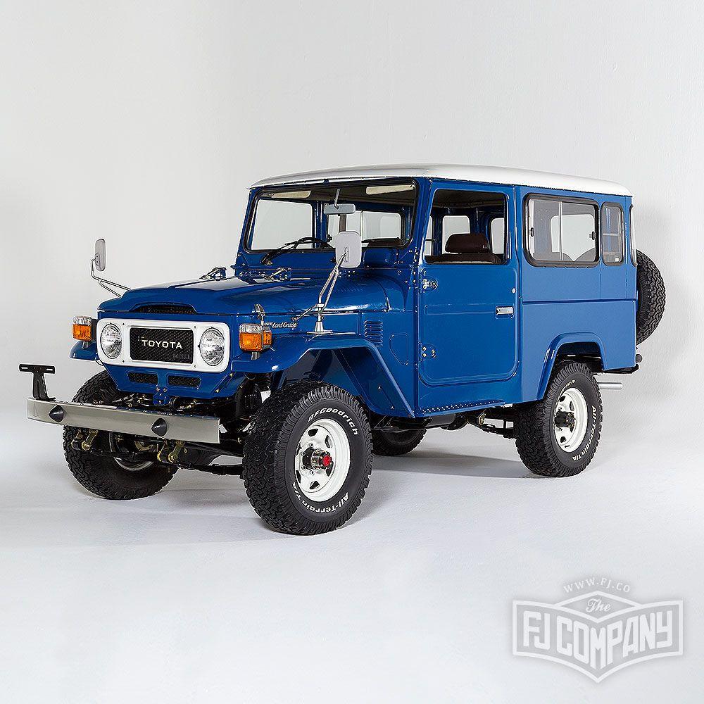 1983 Toyota Land Cruiser Bj46 Medium Blue See Related Pics Fjco1983bj46mediumblue Fj40 Fjrestoration Instacar Land Cruiser Toyota Fj40 Toyota Land Cruiser