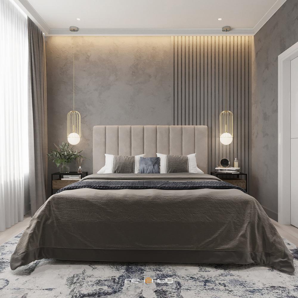 Дизайн спальни в современном стиле (160 фото)   «Печёный