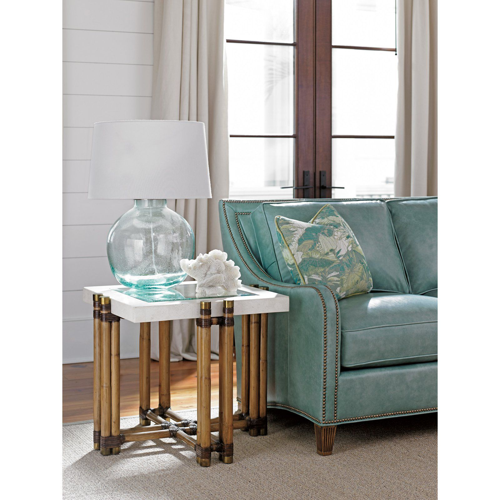 Tommy Bahama Los Cabos Lamp Table Living room table
