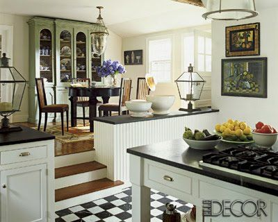 Ooooh Ahhhh A Sunk In Kitchen And Or An Elevated Dining Room