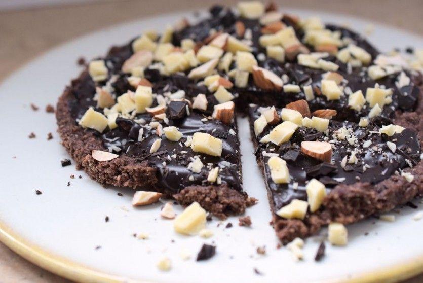 Low Carb Schokoladen Pizza Rezept 4 Teil Nicht Vegane Süße