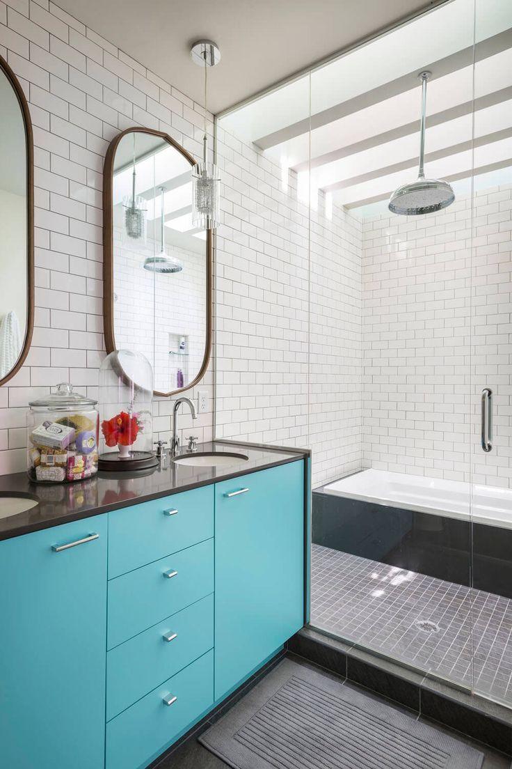Turquoise bathroom cabinet | The Bath | Pinterest | Turquoise ...