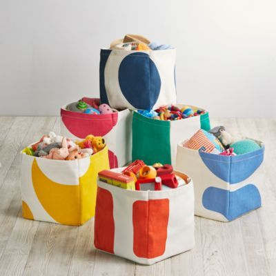 Loving These Color Pop Cube Bins From Land Of Nod Adorable Toy