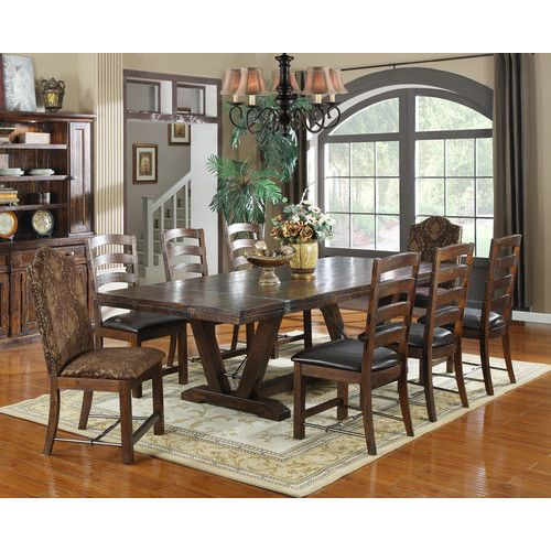 Adams Dining Table Dining Room Table Dining Table Trestle