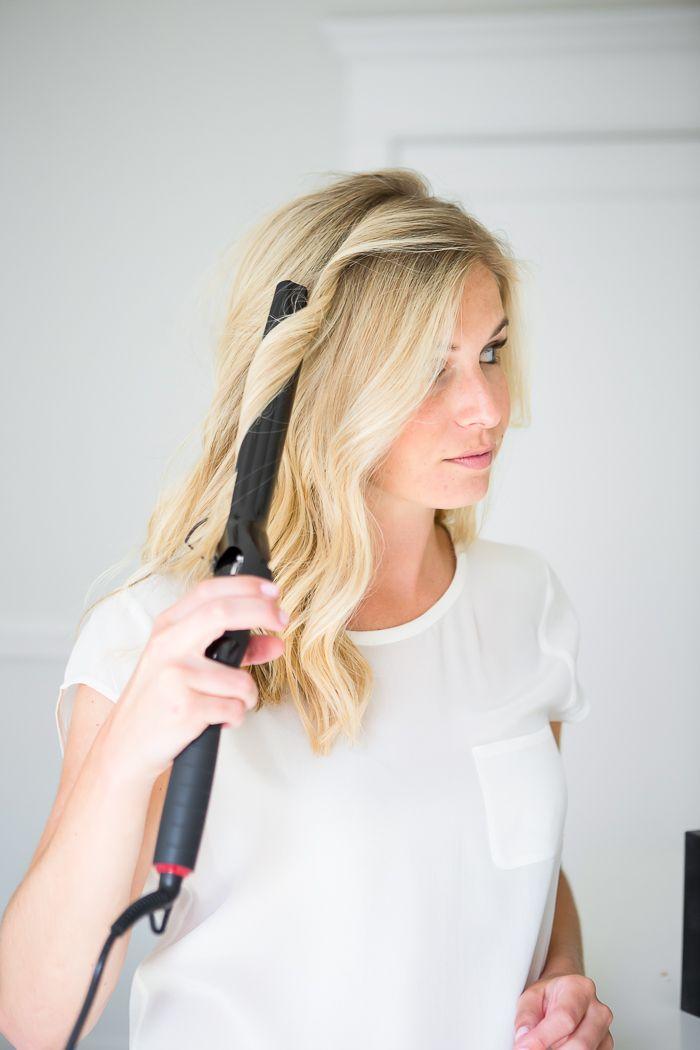 How To Get Beach Waves Long Hair Waves Curling Iron Short Hair Loose Waves Hair
