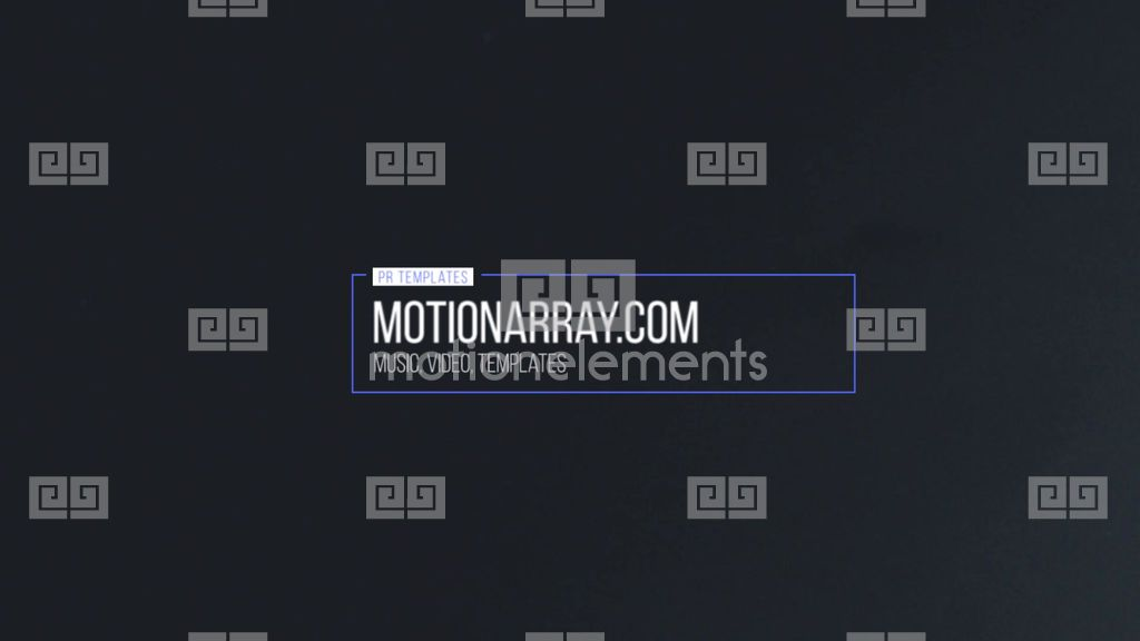 Minimal Motion Titles, Price: $9.00, Category: Premiere Pro Template ...