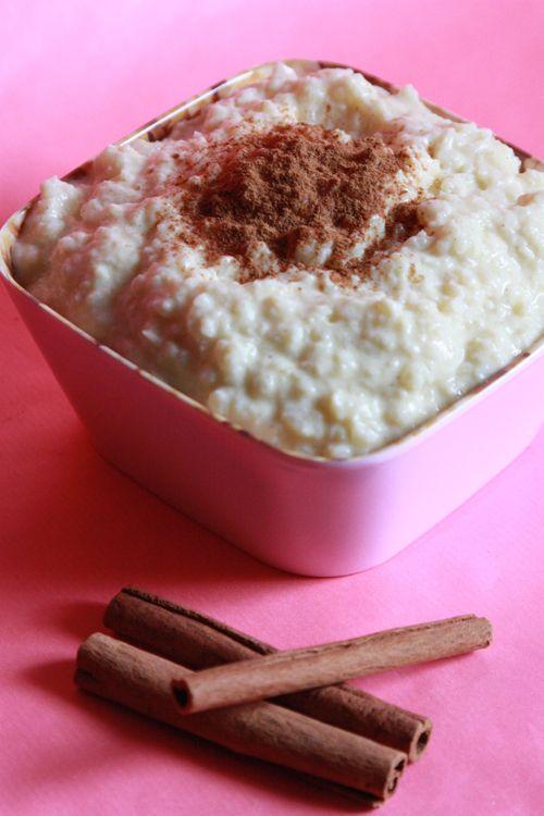 Low Carb Milchreis vegan glutenfrei. Cremige Kokosmilch ist besser als Sojajoghurt. #ricedcauliflower
