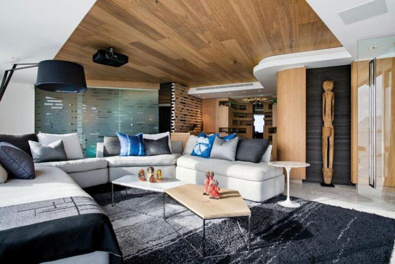 Moderne Wohnzimmer – 54 Bilder und Ideen für hochwertige ...