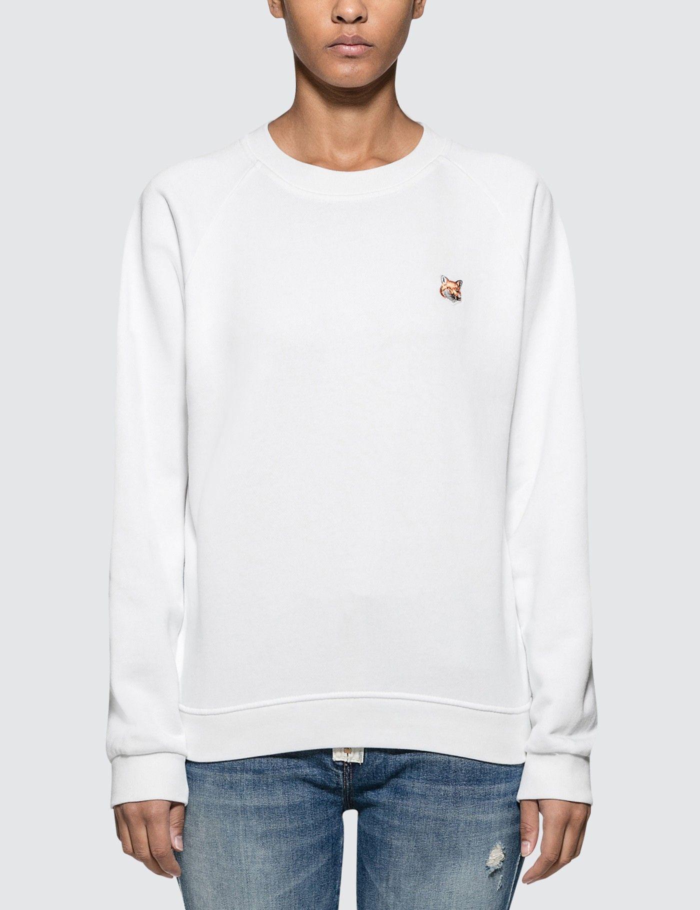 Maison Kitsune Fox Head Patch Sweatshirt Ad Ad Ad Fox Sweatshirt Patch Kitsune Sweatshirts Patch Sweatshirts Maison Kitsune [ 1820 x 1400 Pixel ]