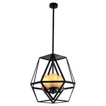 Warehouse Of Tiffany 18 X 20 Inch Black Ceiling Lights