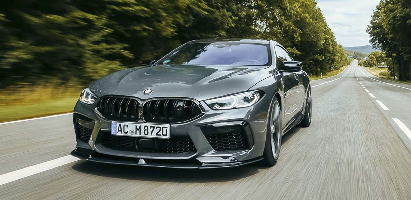 2020 BMW M8 Competition Gran Coupe By AC Schnitzer Top